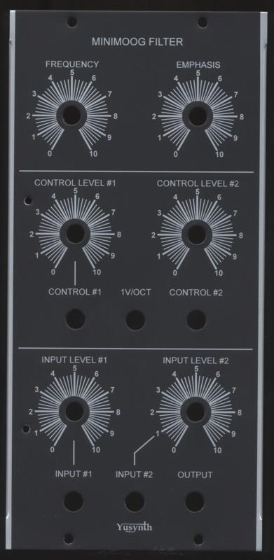 Yusynth Minimoog VCF Panel (1