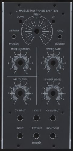 "Yusynth J Haible Tau Phaser Panel (1.25"" Freq)"