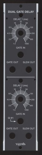 Yusynth Dual Gate Delay Panel