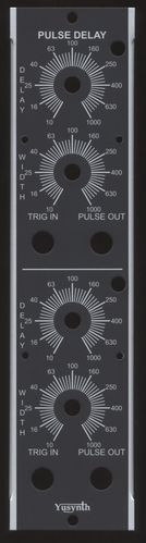Yusynth Dual Pulse Delay Panel