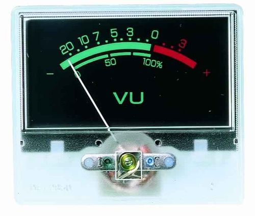 VU Meter for Yusynth Output Mixer