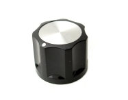 "Knob - ""Classic Dot Style"" 3/4 inch Skirtless"