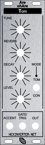 Panel for Hexinverter Ate-Oh-Ate Tom (single)