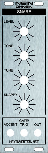 Panel for Hexinverter Nein Oh Nein Snare