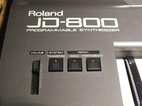 Roland JD800 Digital Synthesizer