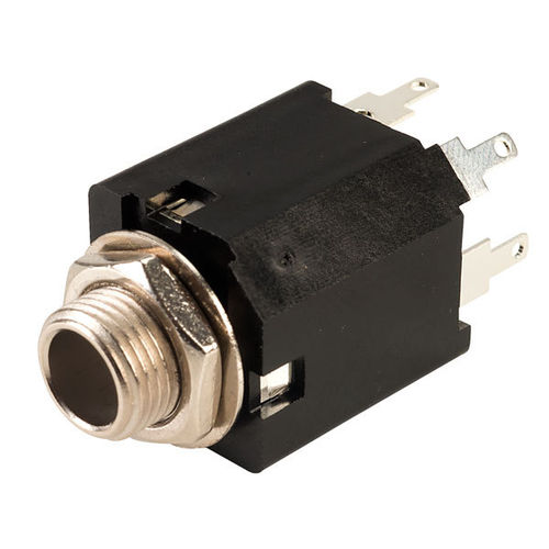 6.35mm 3 pole switched socket type 1