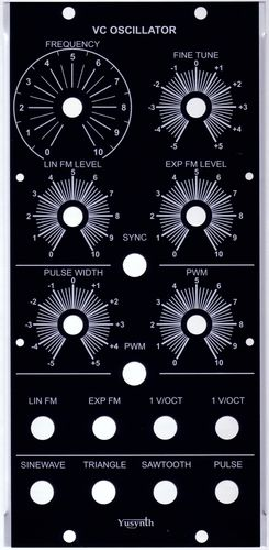 MU Panels for Yusynth DIY - Re:Synthesis - Services for